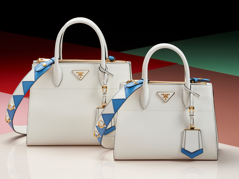1115810d3432 The raw edge design, which reveals the ribbing of the leather, gives the bag  a sporty and modern look. While the option of two different sizes offer  both ...