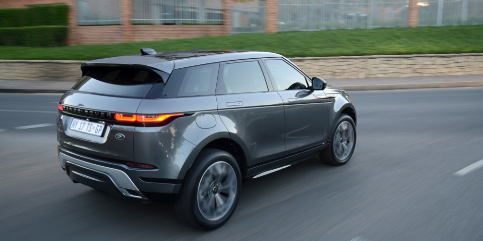 New Range Rover Evoque for African cities and beyond