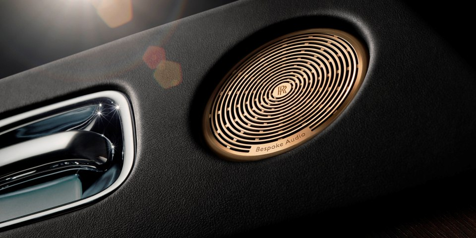Rolls Royce Bespoke Audio