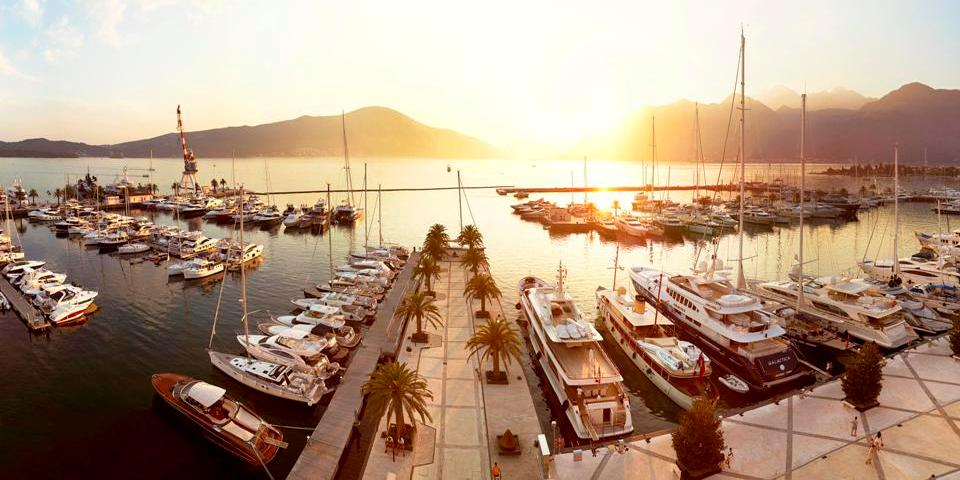 Porto Montenegro opens up to luxury yachts