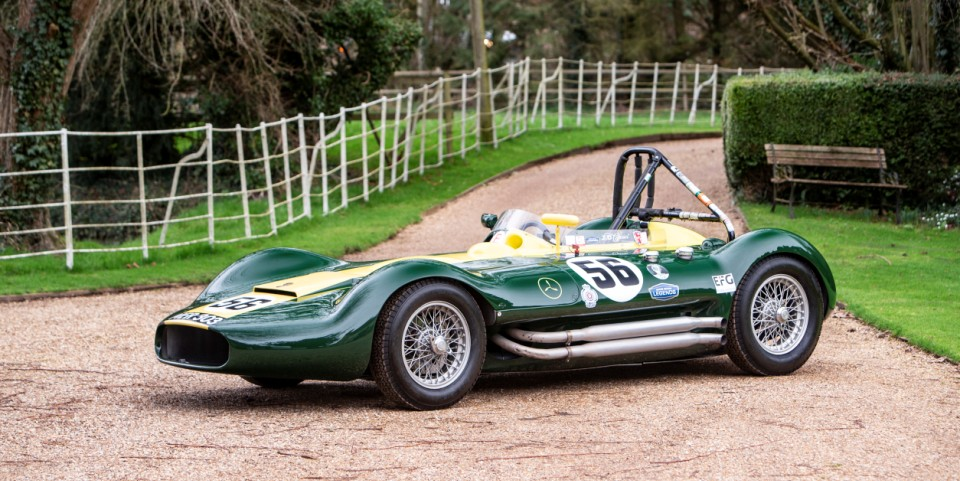 1956 Lister Maserati Sports Racing Two Seater 2