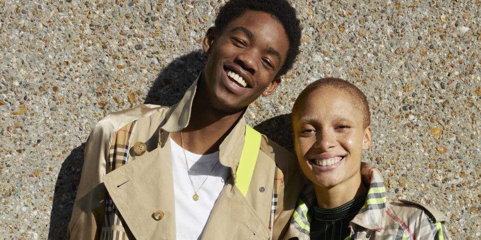 Burberry partners with Adwoa Aboah and Juergen Teller