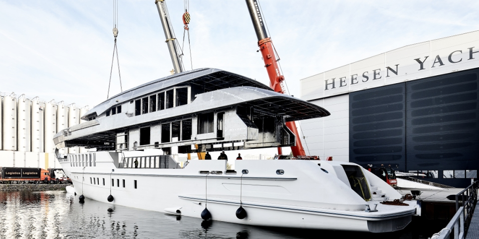 Heesen Yachts launches the world's first fast displacement yacht