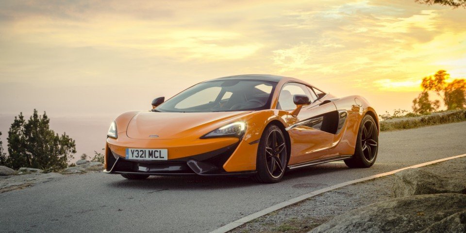 McLaren 570S Design Editions fitted out with Alcantara interiors