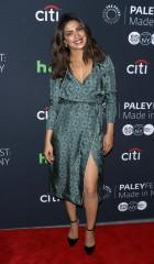 Priyanka Chopra wearing Burberry to PaleyFest in New York